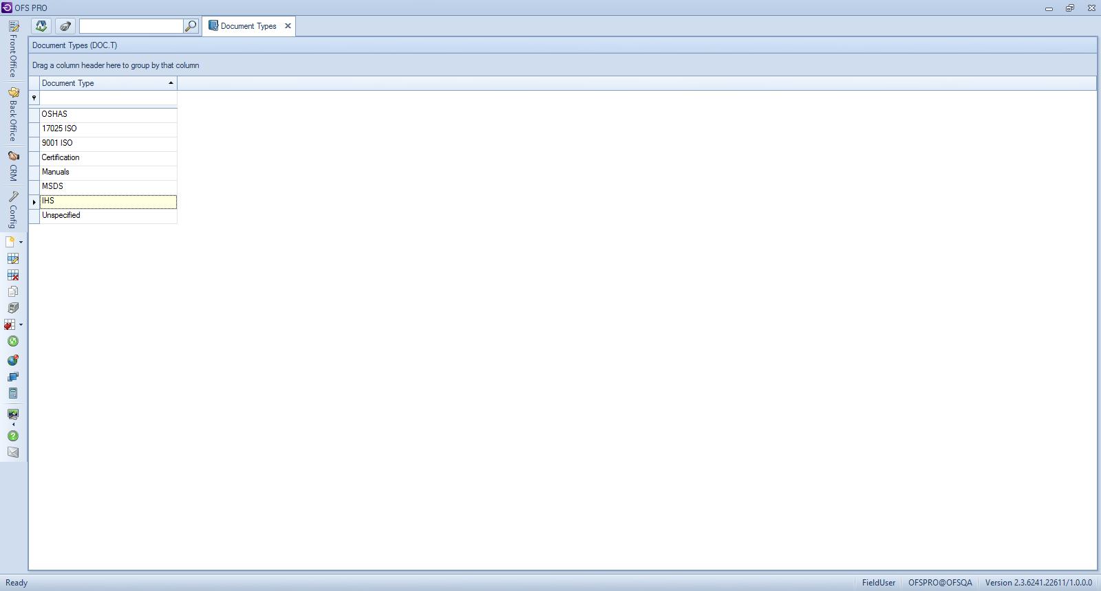 document types